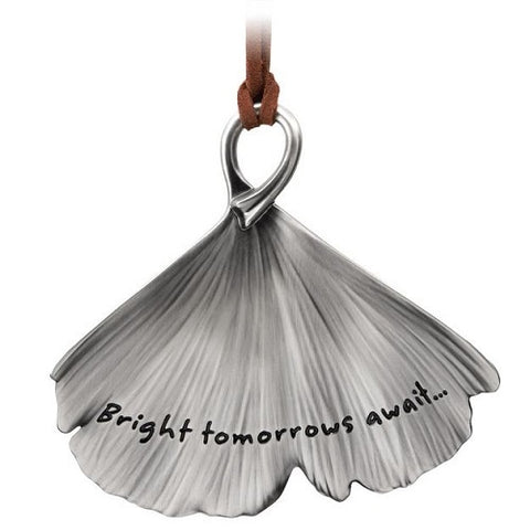 Bright Tomorrows Await Metal Ornament