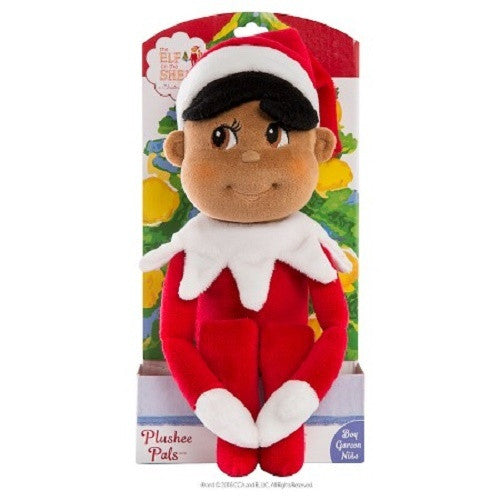 Elf on the Shelf Plushee Pals Boy Elf - Dark - Ria's Hallmark & Jewelry Boutique