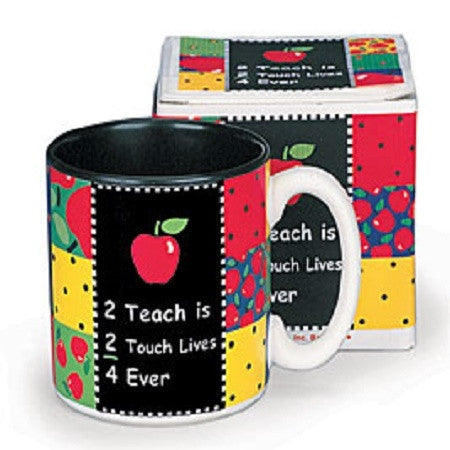 Burton & Burton Teacher Mug - Ria's Hallmark & Jewelry Boutique