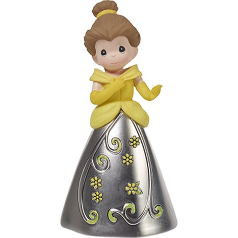 Disney Belle Decorative Bell, Resin/Zinc Alloy - Ria's Hallmark & Jewelry Boutique