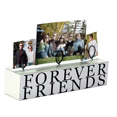 "Malden 3 Photo ""Forever Friends"" Stand Picture Frame - Ria's Hallmark & Jewelry Boutique"