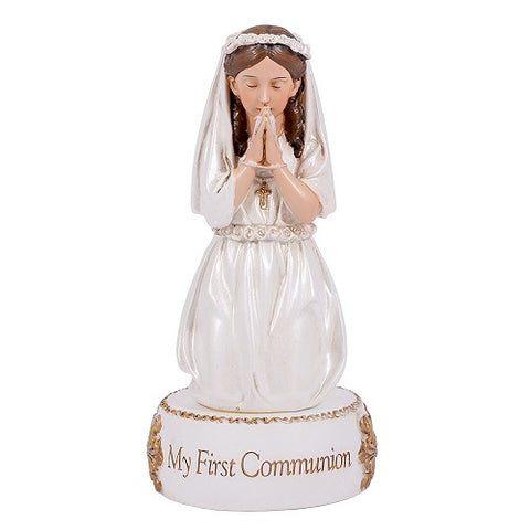 Girl's First Communion Statue 6""