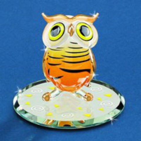 Glass Baron Hoot Owl - Ria's Hallmark & Jewelry Boutique