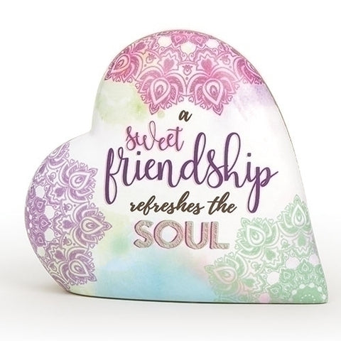 "Friendship 3.5"" Heart Love Notes Musical by Roman"