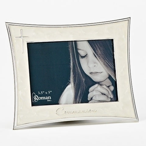 1st Communion Frame with Mother of Pearl Finish - Ria's Hallmark & Jewelry Boutique