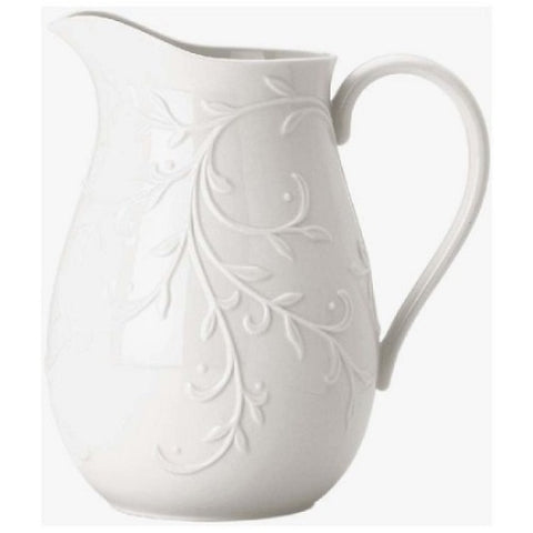 Opal Innocence Carved Pitcher by Lenox