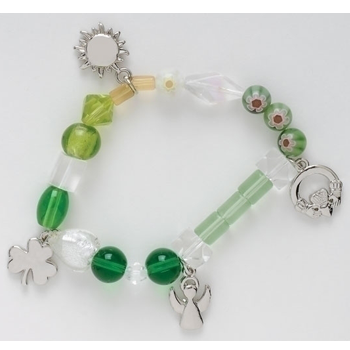 Irish Blessing Stories of Faith Beaded Bracelet - Ria's Hallmark & Jewelry Boutique