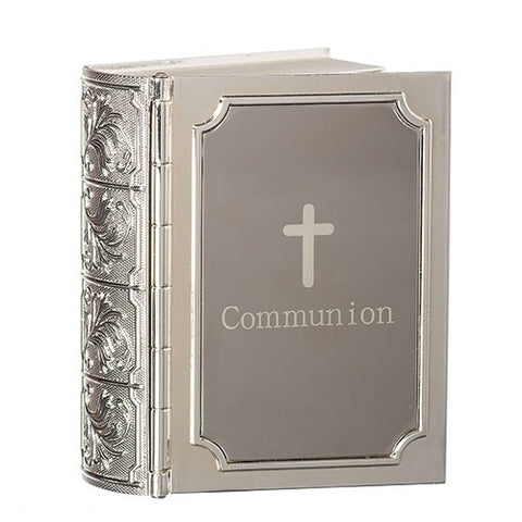 "3.5""H Communion Bible Keepsake Box - Ria's Hallmark & Jewelry Boutique"