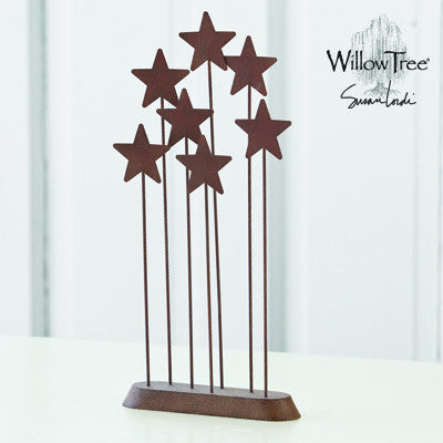 Willow Tree Metal Star Backdrop - Ria's Hallmark & Jewelry Boutique