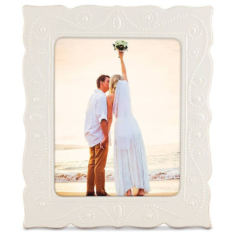 "French Perle White™ 8"" x 10"" Frame by Lenox"
