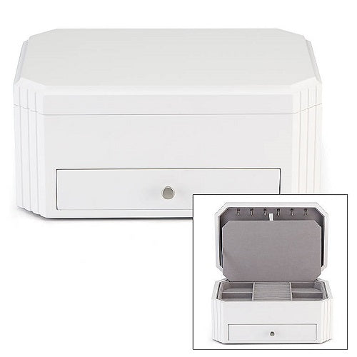 Lea™ White Jewelry Box by Reed & Barton