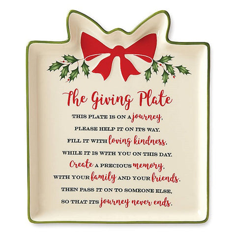 Hosting The Holidays™ Gift Giving Plate by Lenox
