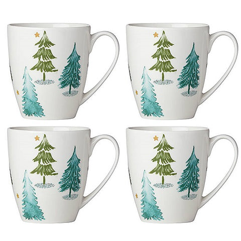 Balsam Lane Mug Set of 4 by Lenox