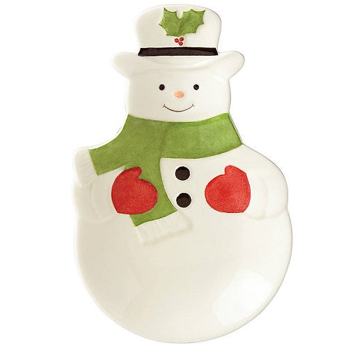 Hosting The Holidays™ Snowman Figural Spoon Rest by Lenox