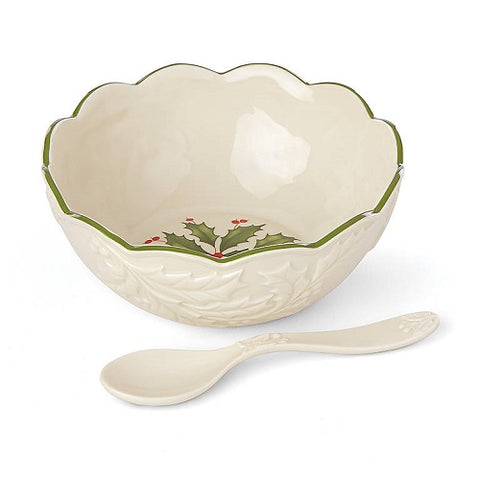 Hosting the Holidays™ Dip Bowl with Spoon by Lenox