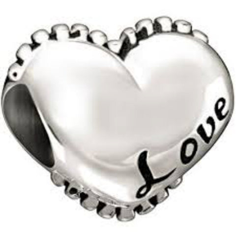 CHAMILIA Sterling Silver - I Love You Heart - Ria's Hallmark & Jewelry Boutique