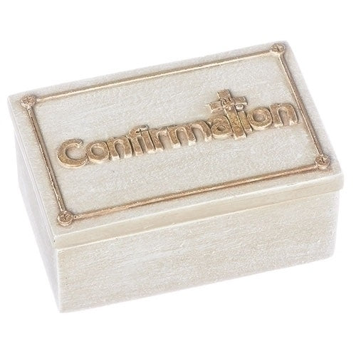Roman 1.25 in. Keepsake Box - Confirmation