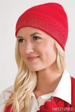 Simply Noelle Starstruck Hat Red