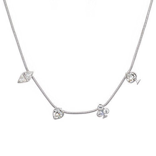 Royal Flush by Annaleece Swarovski Crystal Necklace - Ria's Hallmark & Jewelry Boutique