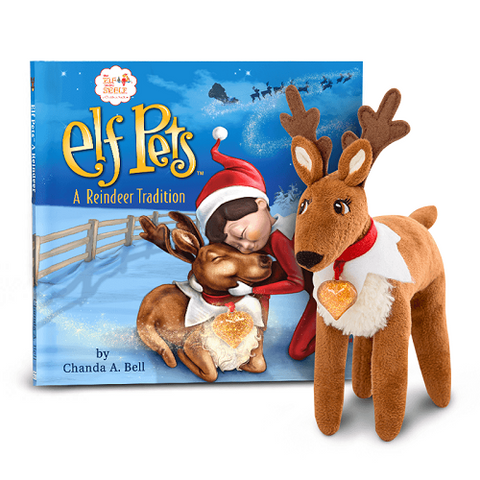 The Elf on the Shelf A Reindeer Tradition - Ria's Hallmark & Jewelry Boutique