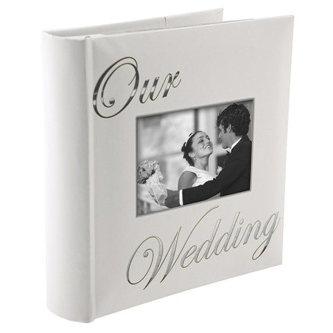 "Malden 160-Photo ""our Wedding"" Album In White - Ria's Hallmark & Jewelry Boutique"