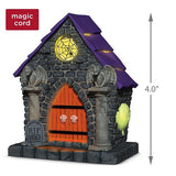 Ghostly Mausoleum Musical Halloween Ornament With Light