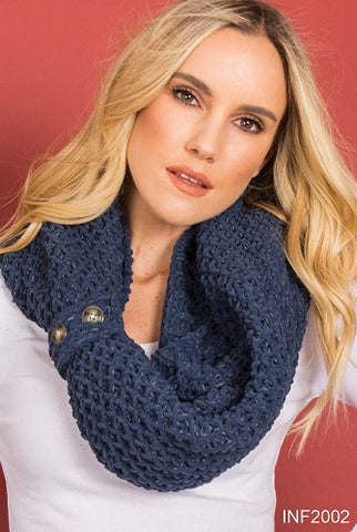 Simply Noelle Pine Valley Infinity Scarf