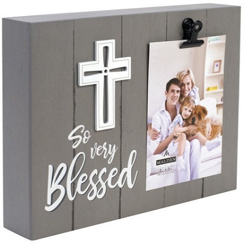 "Malden ""So very Blessed"" Clip Frame"