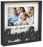 Malden Family Photo Lase Cut Frame