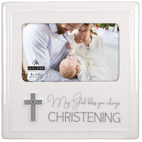 Malden Christening Photo Frame