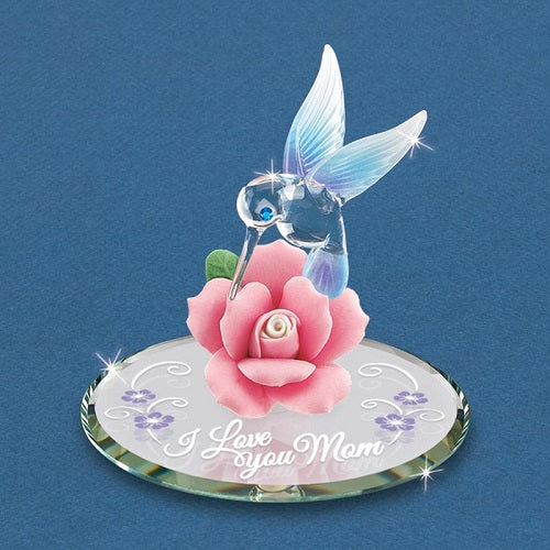 "Glass Baron Hummingbird, ""I Love You Mom"""