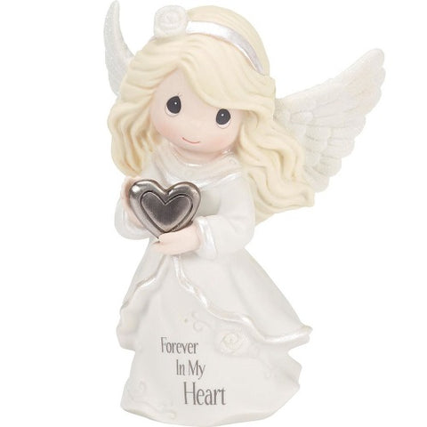 Precious Moments Forever in My Heart Angel Memorial Figurine