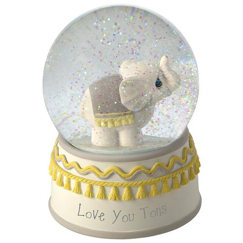Precious Moments® Love You Tons Elephant Musical Snow Globe