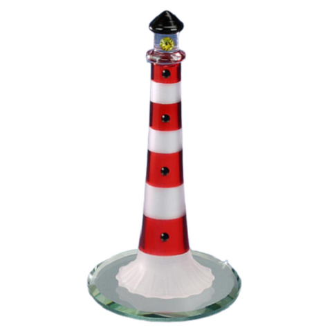 Glass Baron Lighthouse - Red
