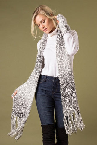 Simply Noelle Catch My Drift Straight Scarf