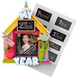 School Days Picture Frame Personalization Ornament