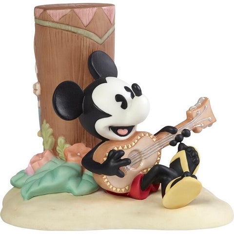Disney Mickey Mouse Figurine Life Is A Sweet Melody With You