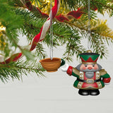 Tea Time! Nutcracker Porcelain Ornaments