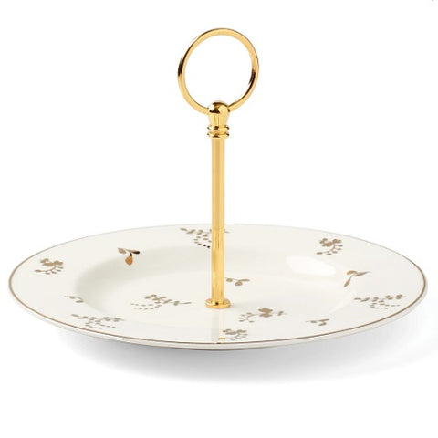 Opal Innocence Flourish Serving Plate by Lenox