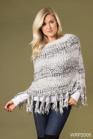 Simply Noelle Catch My Drift Fringe Wrap
