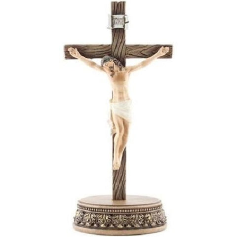 Renaissance Collection 2pc. Crucifix with Stand