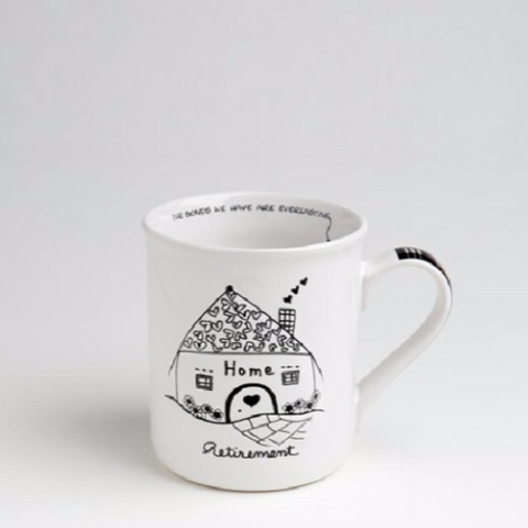 Retirement Mug - Wishing You Happiness