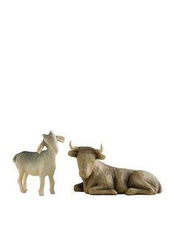 Willow Tree Ox And Goat - Ria's Hallmark & Jewelry Boutique