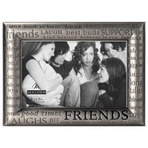 Malden 4'' x 6'' Friends Modern Words Picture Frame - Ria's Hallmark & Jewelry Boutique