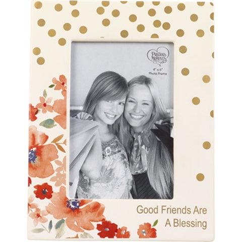 Precious Moments Good Friends Are A Blessing Photo Frame