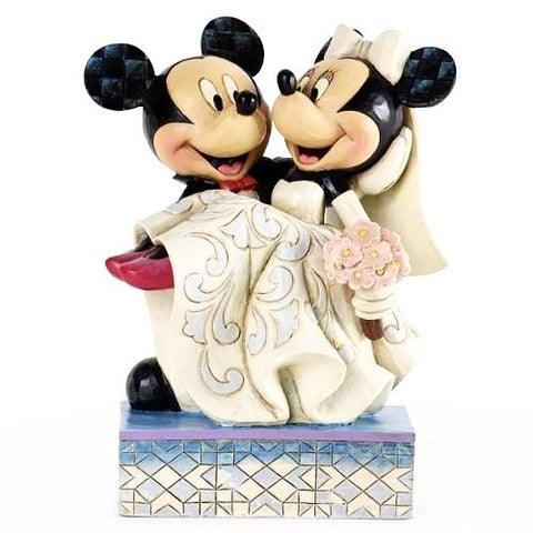 Disney Mickey & Minnie Wedding Figurine