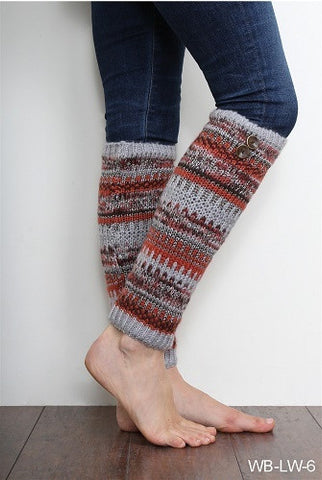 WB Alpine Legwarmers With Buttons - Ria's Hallmark & Jewelry Boutique - 1