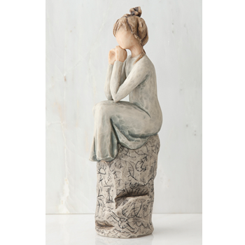 Willow Tree Patience Figurine - Ria's Hallmark & Jewelry Boutique - 1