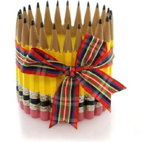 Burton & Burton Teacher Pencil Vase - 4.25