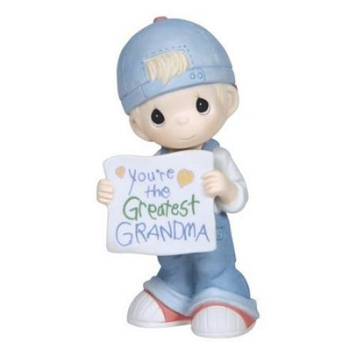 Precious Moments Youre The Greatest Grandma Boy - Ria's Hallmark & Jewelry Boutique